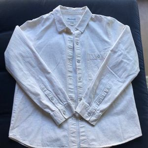 Madewell Cotton button down